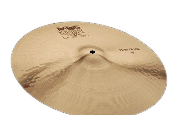 Paiste thin crash 18″