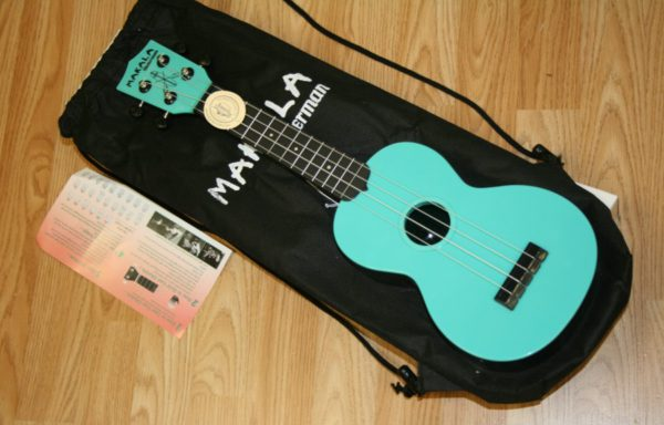 Kala Waterman w/Backpack ukulele