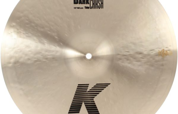 Zildjian K medium thin dart crash 16″, käyt.