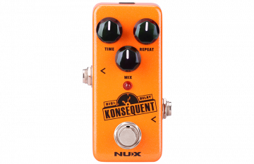 NUX Konsequent Delay minipedaali