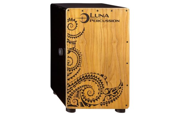 Luna Cajon Box Black + laukku